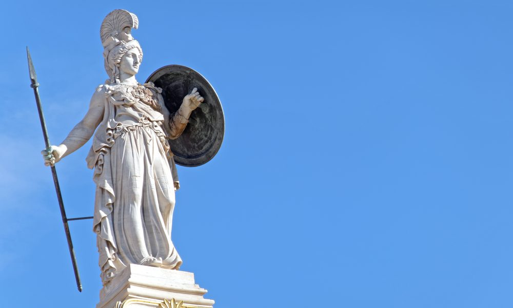 Athéna, la déesse mythique de la sagesse
